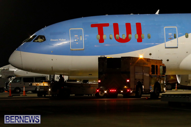 TUI UK Airplane Thomson 637 Bermuda, December 13 2017-5020