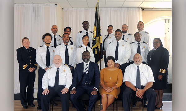 Trainee Customs Officers Bermuda Dec 2017