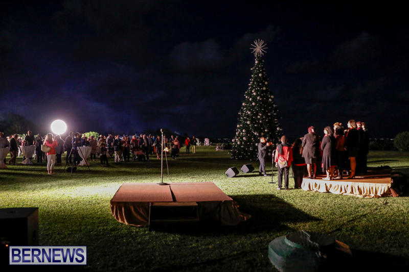 Tree Lighting At Fairmont Southampton Bermuda, December 2 2017_3244