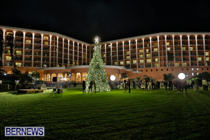 Tree Lighting At Fairmont Southampton Bermuda, December 2 2017_3335