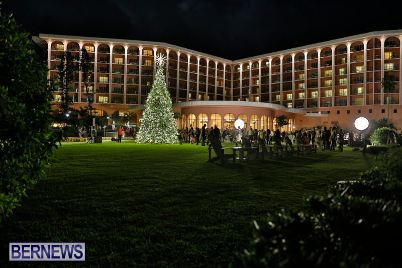Tree Lighting At Fairmont Southampton Bermuda, December 2 2017_3359