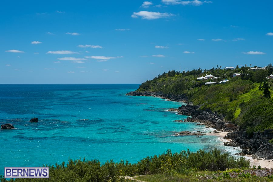 215 The stunning beauty of Bermuda's south shore on a gorgeous day can't be taken for granted