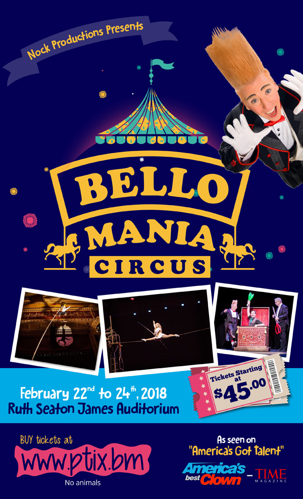 Bello Mania Circus Bermuda Jan 2018