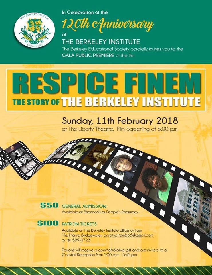 Berkeley Institute Respice Finem Bermuda Jan 2018