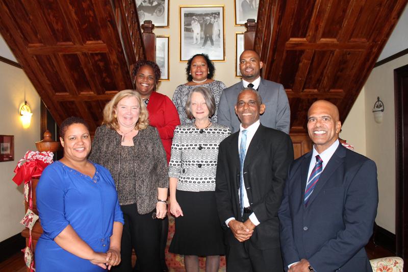 CG Welcomes Fulbrighter Bermuda Jan 10 2018