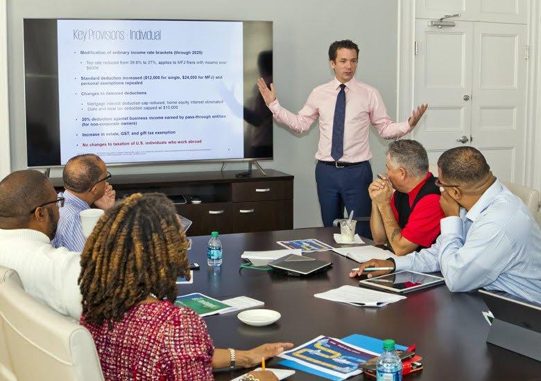 Cabinet discussed US Tax Reform Bermuda Jan 2018 (1)