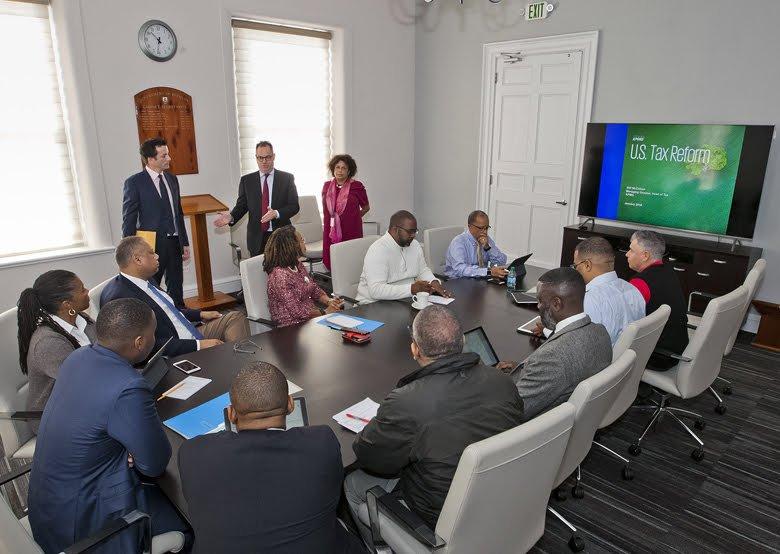 Cabinet discussed US Tax Reform Bermuda Jan 2018 (3)