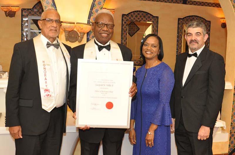 Honorary Fellows Bermuda Jan 31 2018 Leopald N Mills II