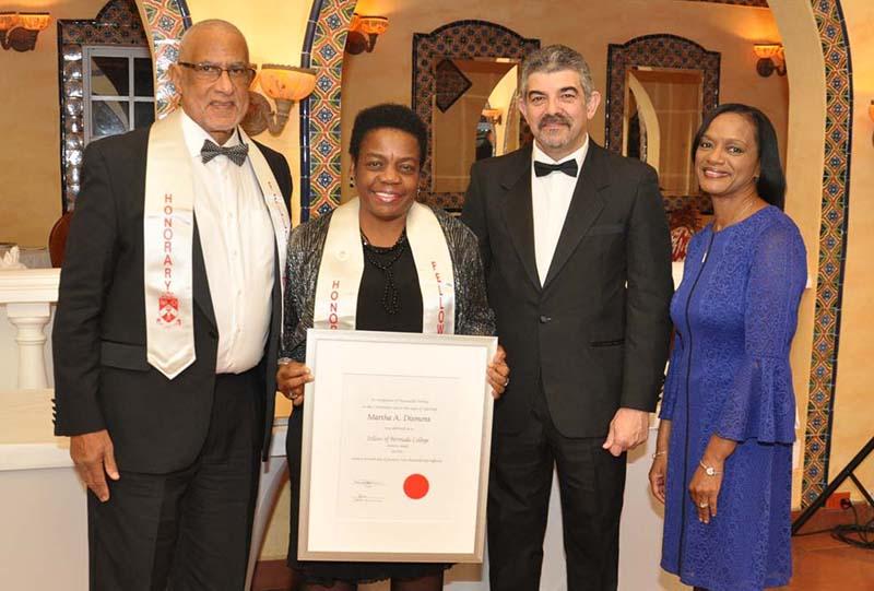 Honorary Fellows Bermuda Jan 31 2018 Martha A Dismont