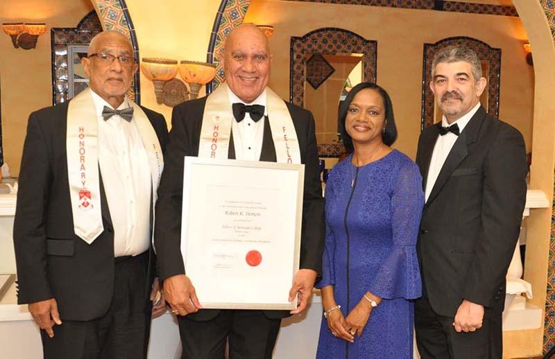 Honorary Fellows Bermuda Jan 31 2018 Robert K Horton
