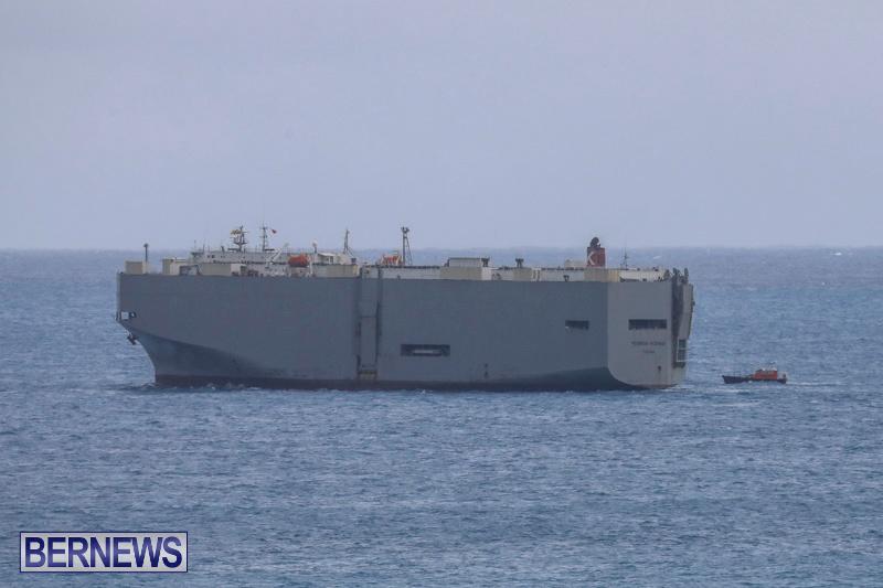 Injured Crew Members Car Ship Pegasus Highway Medivac Bermuda, January 6 2018-2039