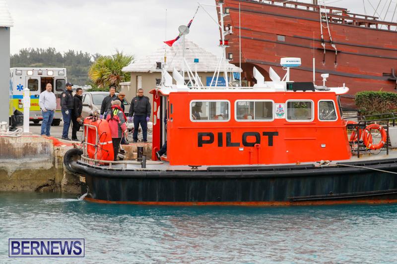 Injured Crew Members Car Ship Pegasus Highway Medivac Bermuda, January 6 2018-2240
