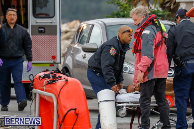 Injured Crew Members Car Ship Pegasus Highway Medivac Bermuda, January 6 2018-2274