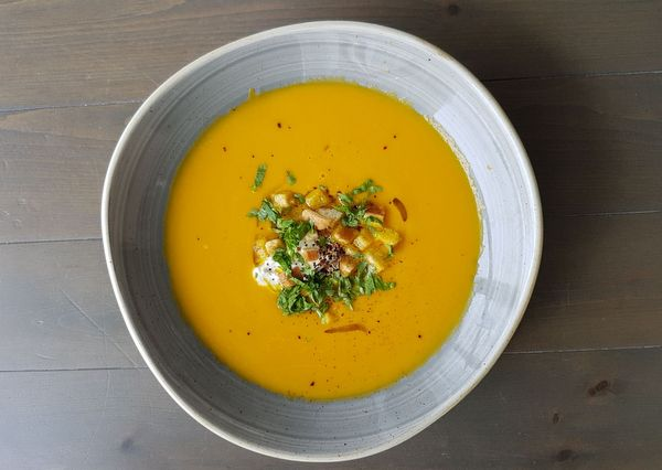 Marcus Carrot Soup Jan 2018 Bermuda