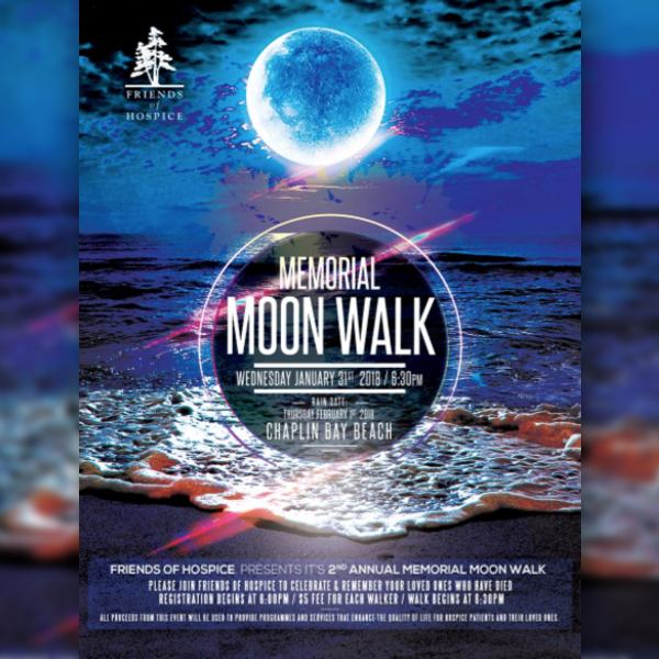 Memorial Moon Walk Bermuda Jan 31 2018