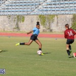 Middle Girls Bermuda School Sports Federation All Star Football, January 20 2018-3467