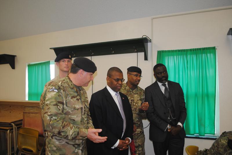 Ministers visit new RBR recruits Bermuda Jan 15 2018 (1)