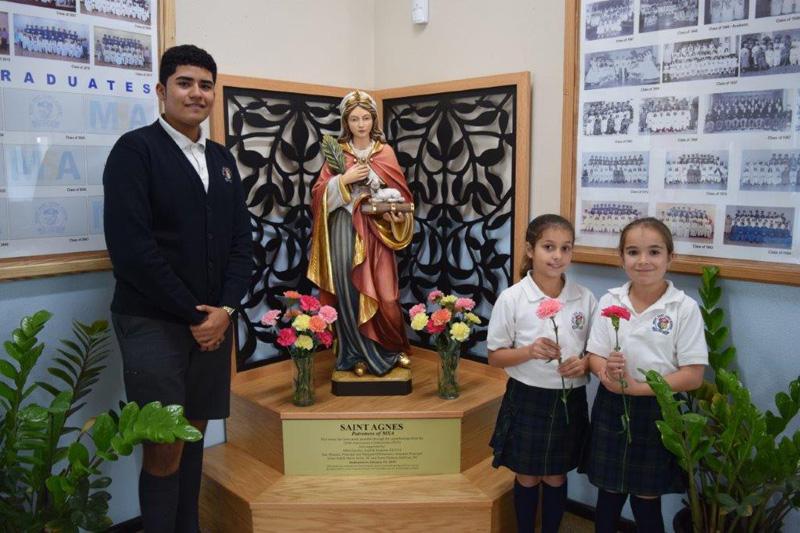 Mount Saint Agnes Academy Bermuda Jan 2018