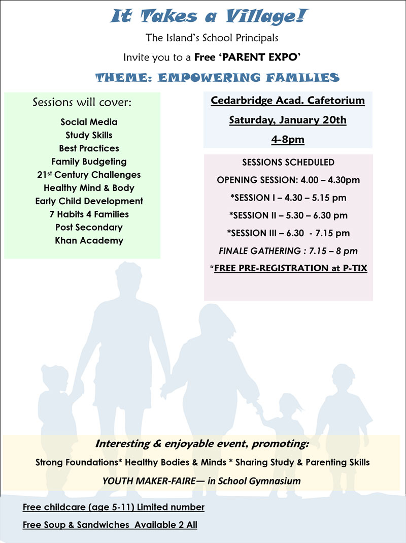 Parent Expo poster