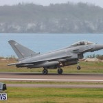 RAF Typhoon Bermuda Airport, January 16 2018-2124