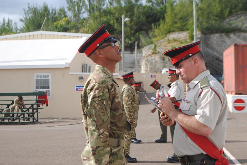 Royal Bermuda Regiment Jan 21 2018 (2)
