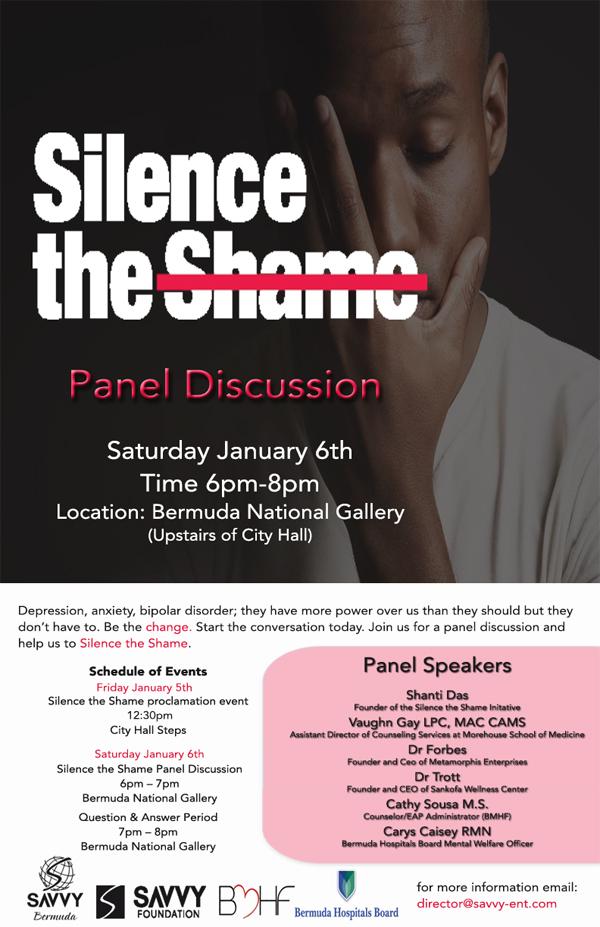 Silence the Shame Bermuda Jan 2018