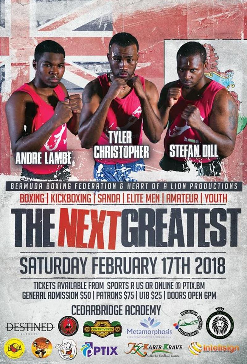 next greatest boxing poster