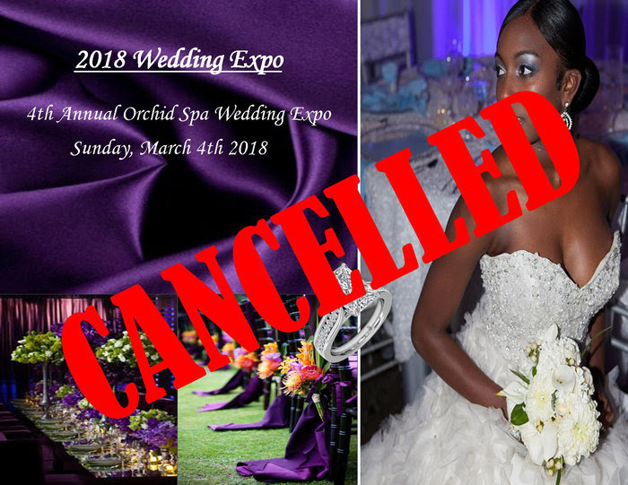 2018 Wedding Expo Cancelled Bermuda Feb 2018
