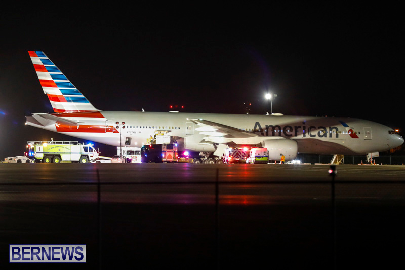 American Airlines 973 Diversion Bermuda, February 3 2018-7810