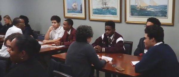 BFIS-Speed-Networking-For-High-School-Students-Bermuda-Feb-19-2018-3