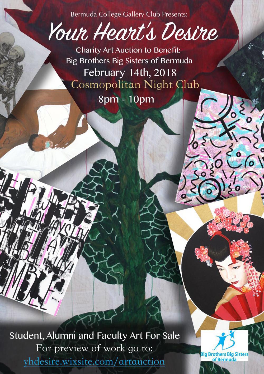 Bermuda College Gallery Club Art Auction Feb 12 2018