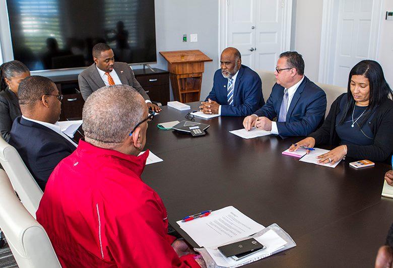Bermuda Government meet Feb 21 2018 02