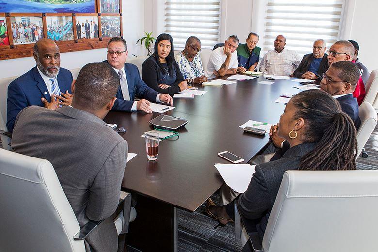 Bermuda Government meet Feb 21 2018 05