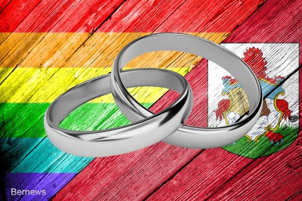 Bermuda rainbow ring  wedding LGBTQ generic 34r3