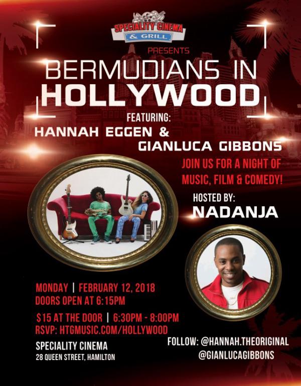 Bermudians In Hollywood Feb 2018