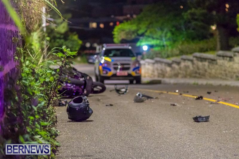 Bike Van Collision Camp Road Bermuda, February 28 2018 (9)