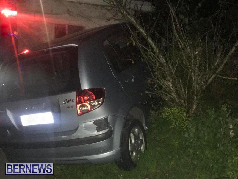 Car Collision Bermuda, February 3 2018