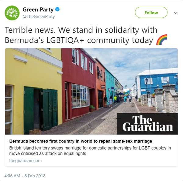 Green Party February 2018