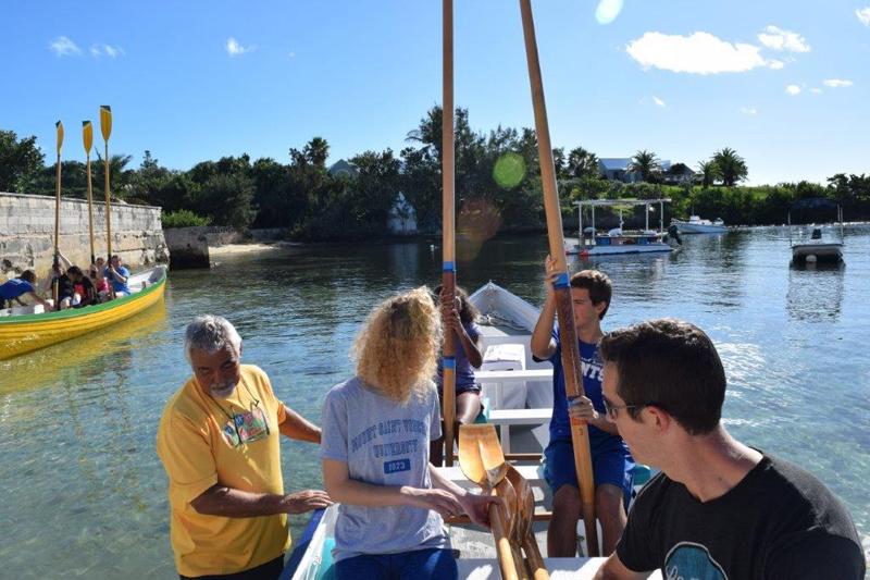 MSA Students Row with BPGC Bermuda Feb 2018 (1)