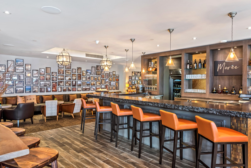 Maree Lounge Bermuda Feb 2 2018