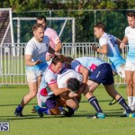 Mens Rugby Squad Play Queens University Bermuda, February 24 2018-3430
