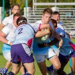 Mens Rugby Squad Play Queens University Bermuda, February 24 2018-3439