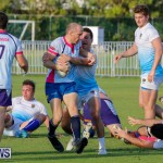 Mens Rugby Squad Play Queens University Bermuda, February 24 2018-3463