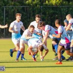 Mens Rugby Squad Play Queens University Bermuda, February 24 2018-3548