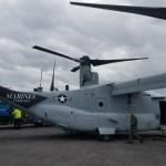 Military aircraft landing at Bermuda airport Feb 28 2018 (1)