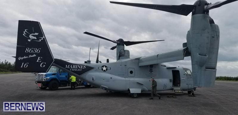 Military-aircraft-landing-at-Bermuda-airport-Feb-28-2018-1