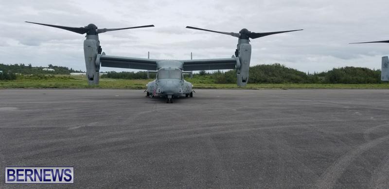 Military-aircraft-landing-at-Bermuda-airport-Feb-28-2018-4