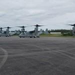 Military aircraft landing at Bermuda airport Feb 28 2018 (5)