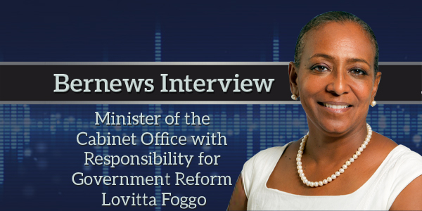 Minister Lovitta Foggo Bernews Podcast