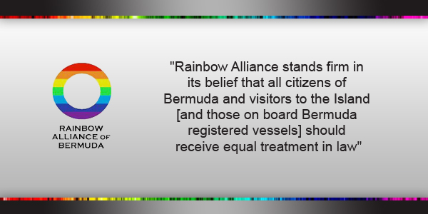 Rainbow Alliance of Bermuda Feb 9 2018